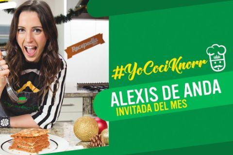 Alexis de Anda en la campaña YoCociKnorr